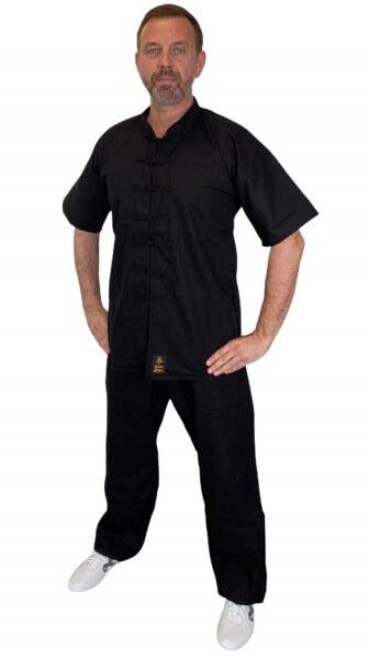 PX Kung Fu Anzug QUAN, schwarz, 110