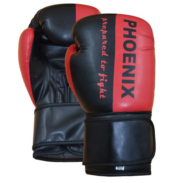 "PX Boxhandschuh ""Prepared to Fight"" PU s/R"