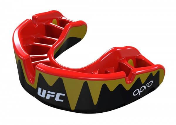 """OPRO """"UFC"""" Mundschutz Platinum Senior black/gold"""
