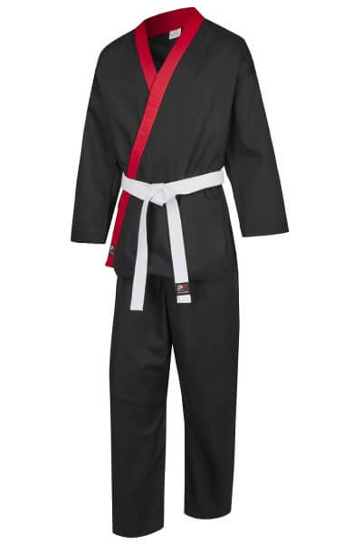 PX CHALLENGE Karategi schwarz-rot Gr. 100