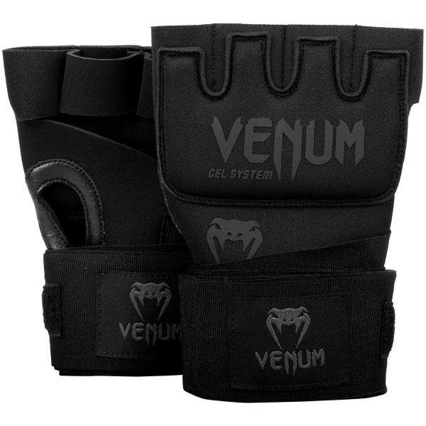 VENUM Gel Bandagen Kontact Gel Glove Wraps Black