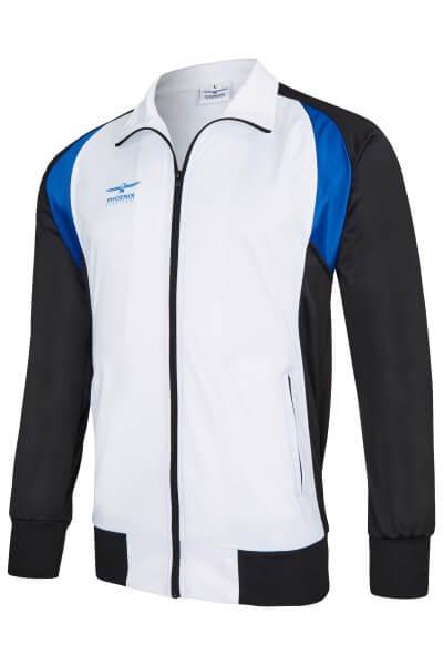 PHOENIX Trainingsanzug Jacke weiß-schwarz S
