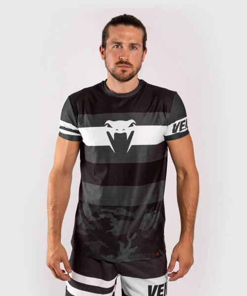 Venum Bandit Dry Tech Shirt - schwarz/grau L