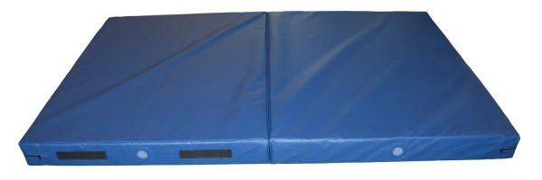 COMPACT Wurfmatte/-Faltmatte  244 x 150 cm, blau