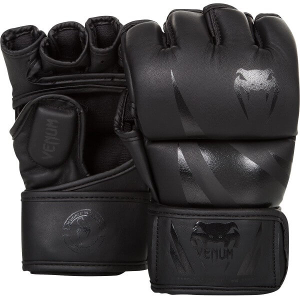 Venum Challenger MMA Gloves - Black/Black S