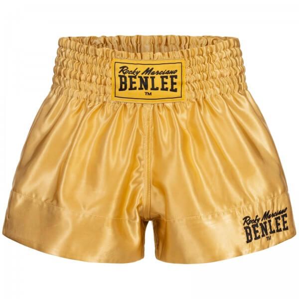 BENLEE Kinder Kickbox-Shorts Gold 8 bis 10 J.
