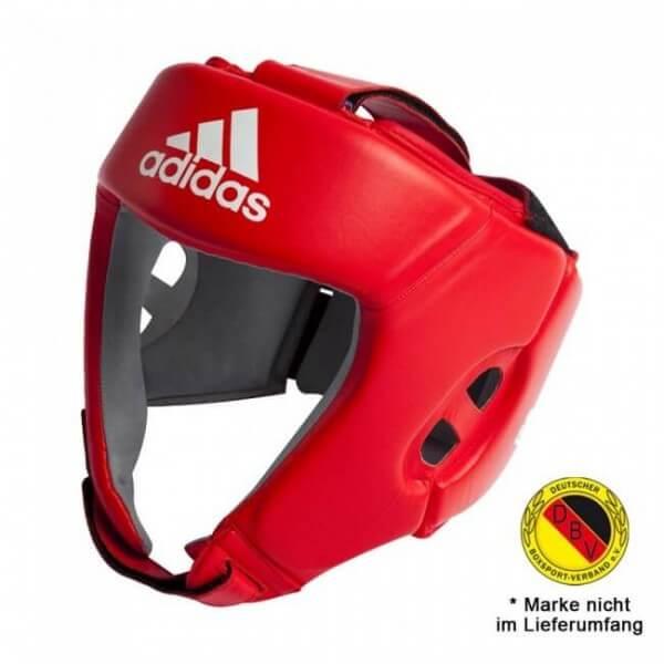 ADIDAS AIBA Boxing Kopfschutz - rot