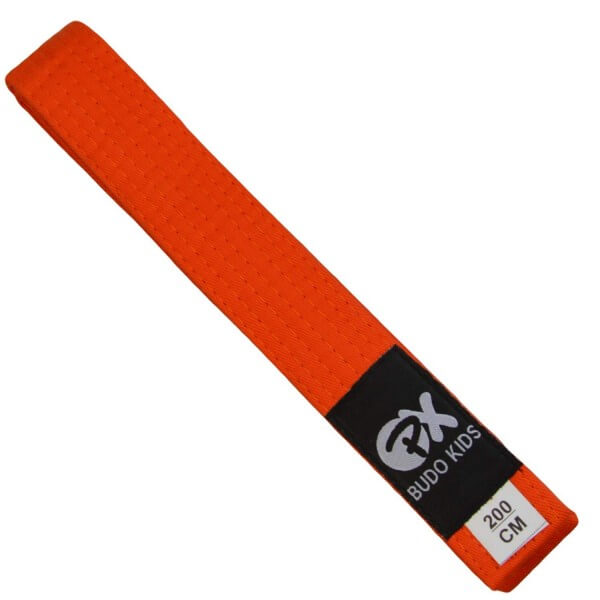 PX Budo Kids Softbelt, orange, 200cm