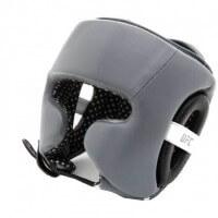 UFC Training Head Gear Leather grey/black Grau/Schwarz