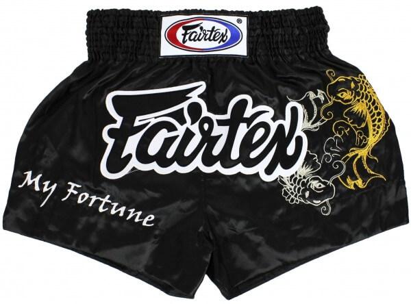FAIRTEX Thai Shorts schwarz BS0639 S
