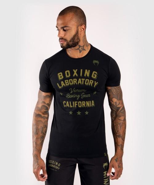 Venum Boxing Lab T-shirt - black/khaki S