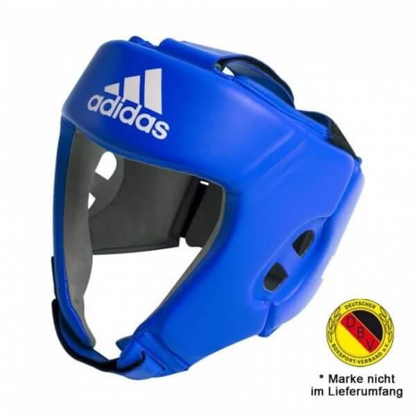 ADIDAS AIBA Boxing Kopfschutz - blau
