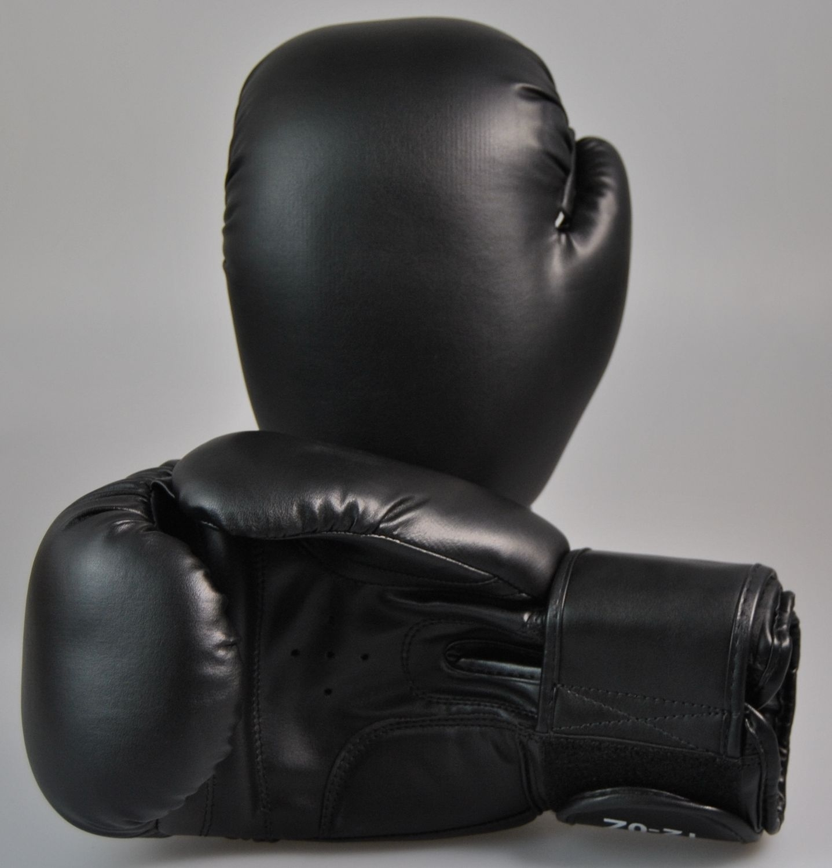 PHOENIX Boxhandschuhe Top Modell Leder schwarz