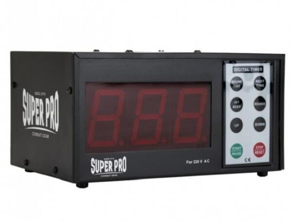 Super Pro Digital Gym Timer 30 cm schwarz