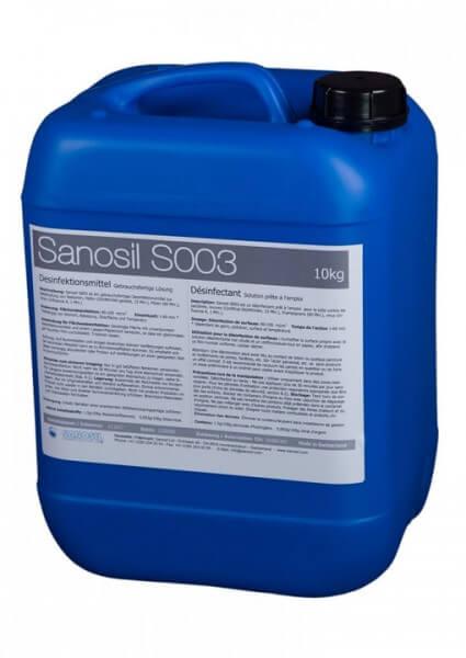 10 Kg Desinfektionsmittel für Matten SANOSOL S003-Copy