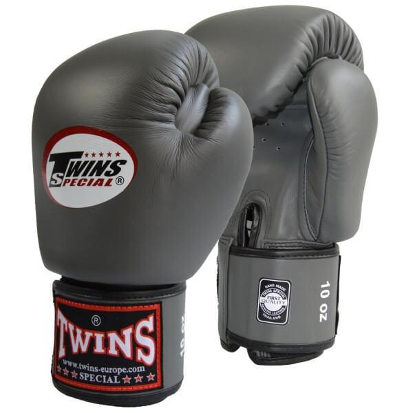 TWINS Boxhandschuh dunklelgrau 10oz