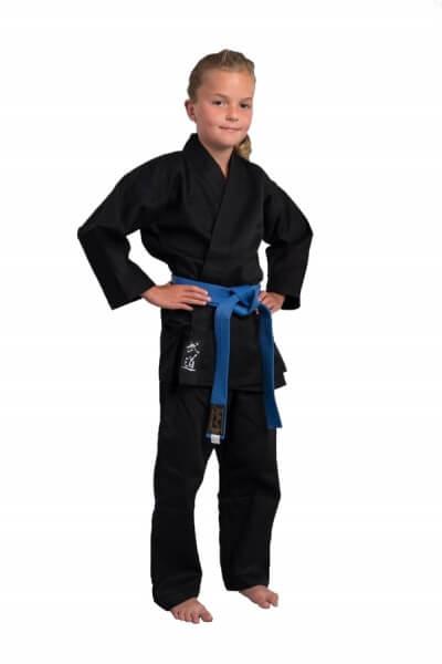PHOENIX Karate-Anzug schwarz STANDARD