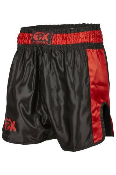 """PHOENIX Thai Shorts, """"Contender"""" schw-rot"""