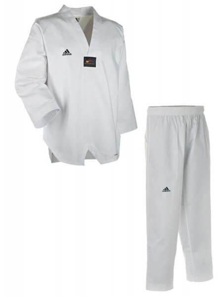 ADIDAS Taekwondo Anzug Adichamp Weißes Revers