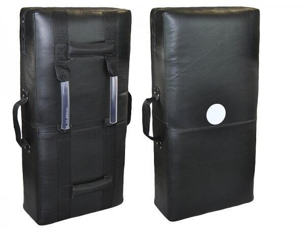 Schlagpolster Echtleder schwarz ca 75 x