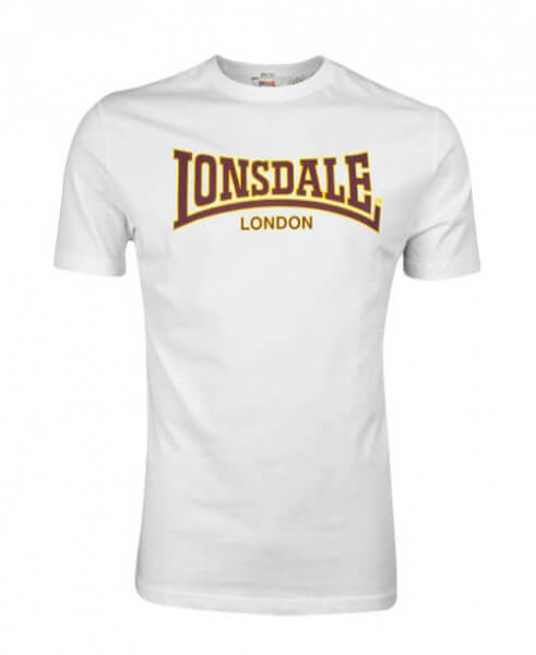 LONSDALE T-Shirt Herren Classic White