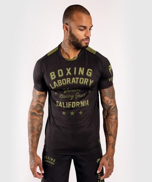 Venum Boxing Lab Dry Tech Shirt - black/khaki S