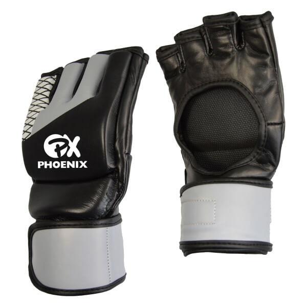 PX MMA Handschutz ADVANCE schwarz-grau