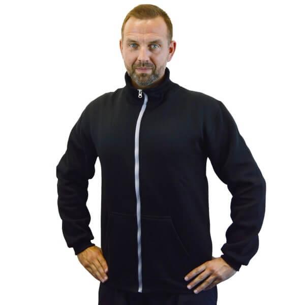 PHOENIX Sweat-Jacke schwarz-grau Gr. XXS