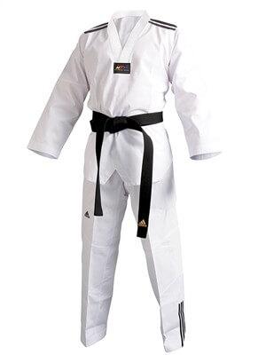 ADIDAS Taekwondo Anzug ADICLUB 3S w/R