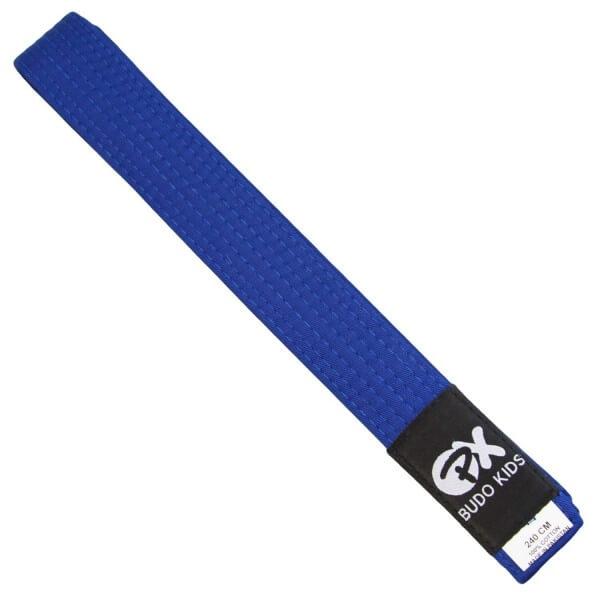 PX Budo Kids Softbelt, blue, 240cm