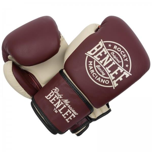 BENLEE Leder Boxhandschuhe Wakefield Retro/Wine