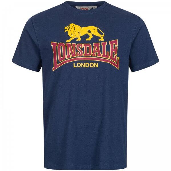 LONSDALE T-Shirt Herren Taverham Navy