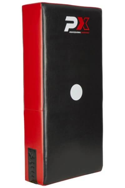 PX-Schlagpolster Kunstleder rot-schwarz