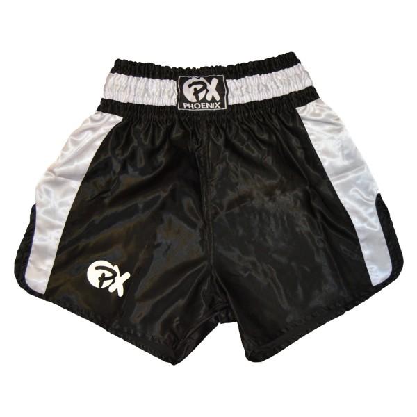 """PHOENIX Thai Shorts, """"Contender"""" schw-weiß XXS"""