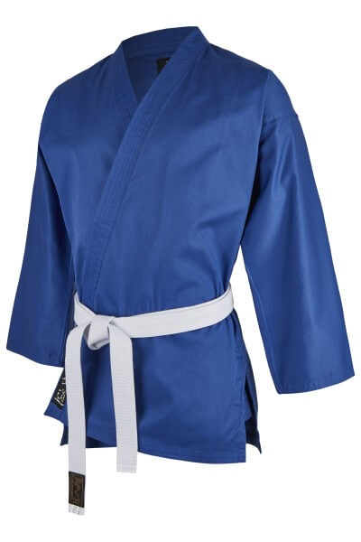 Kampfsport Standard-Jacke blau