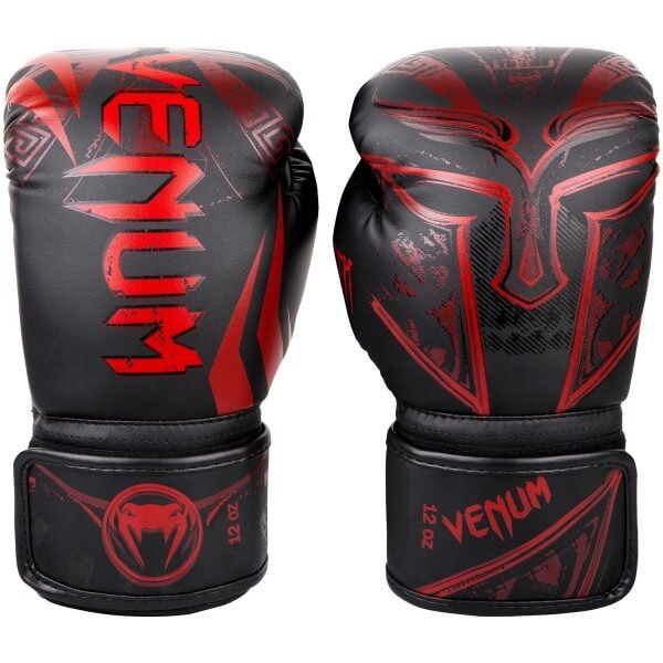 Venum Gladiator 3.0  Gloves - Black/Red 10oz