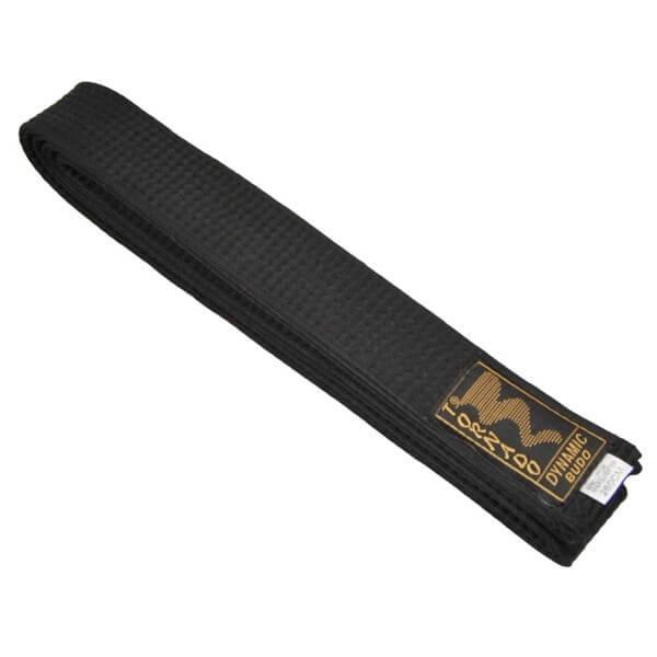 Budogürtel schwarz 240 - 4 cm