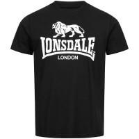 LONSDALE T-Shirt Herren LOGO Black - Angebot