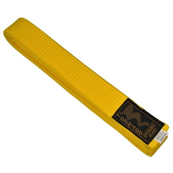Budogürtel gelb 220 cm