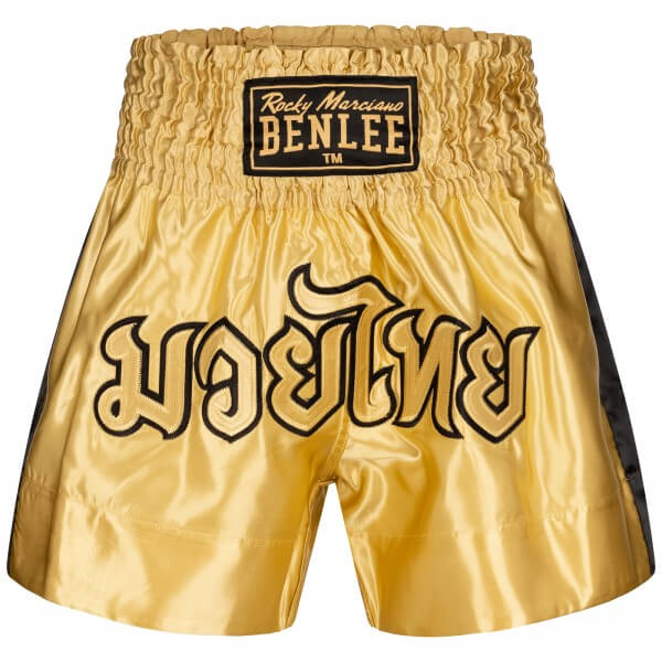 BENLEE Muay Thai Shorts Gold-Black