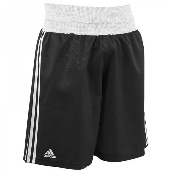 Boxing Shorts Punch Line black/white