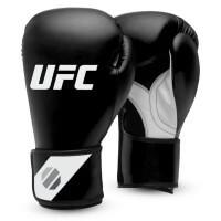 UFC Fitness Training Glove black Schwarz/Weiß/Silber