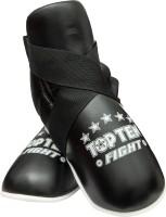 "TOP TEN Fußschutz Kickboxen ""Fight"" Schwarz"