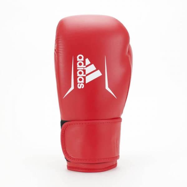 ADIDAS Speed 175 Leder Boxhandschuhe rot