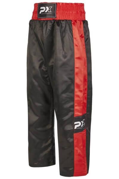 PHOENIX Kickboxhose , schwarz-rot