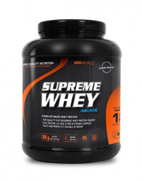 SRS Muscle SUPREME WHEY 900 g