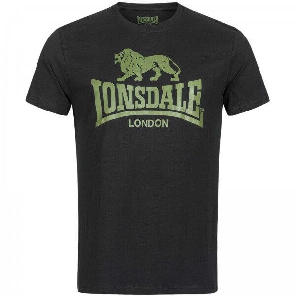 LONSDALE T-Shirt Herren Olive