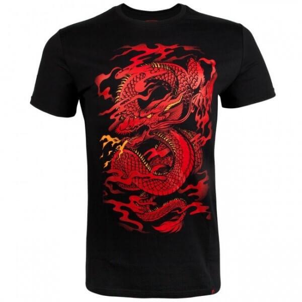 Venum Dragon''s Flight T-shirt - Black/Red S