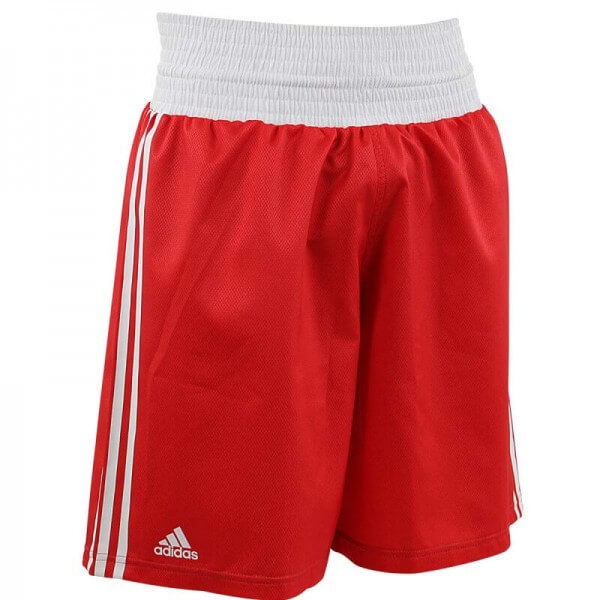 ADIDAS Boxing Shorts Punch Line red/white