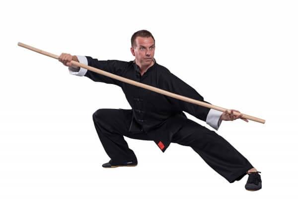 Traditioneller Shaolin II Kung Fu Anzug Black